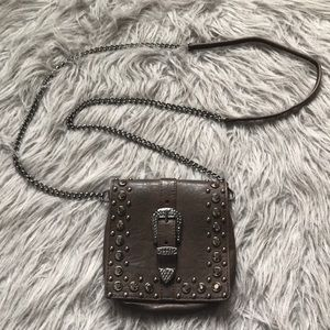 Rodeo-style small crossover clutch purse